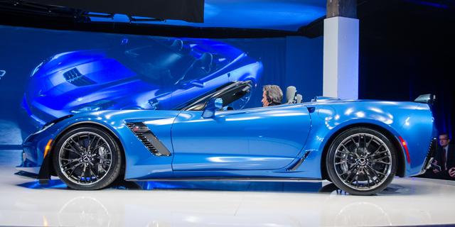 2015 corvette stingray convertible via dave pinter flickr - Corvette 2015 Stingray Blue