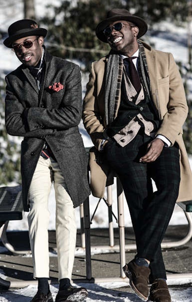 Jeremy and Joekenneth by Dapper Lou