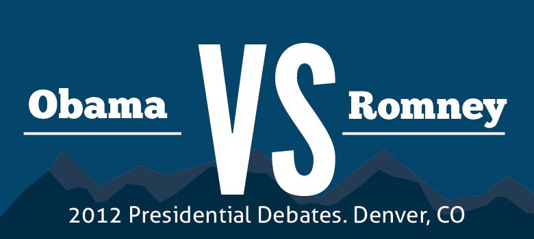 Obama and Romney Debate in Colorado