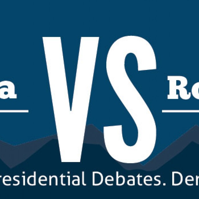 Obama and Romney Debate in Colorado