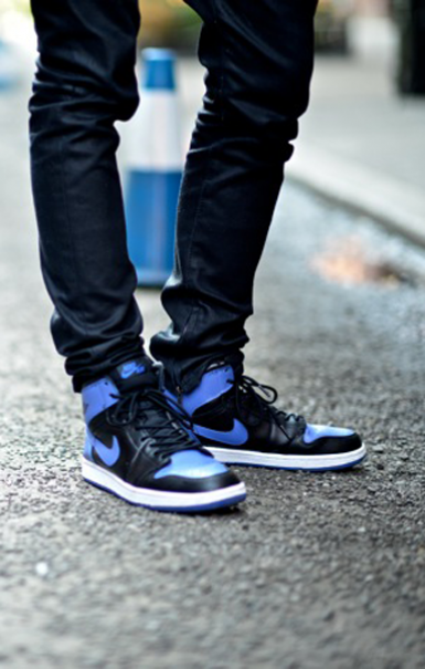 Dapper Lou New York City Black Royal Blue Air Jordans