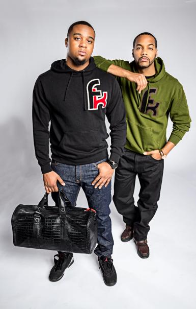 Angelo with Duffle Bag